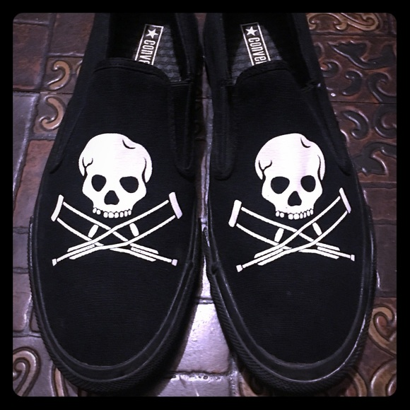 cea5b4add26c Converse Other - Jackass Converse Limited Edition Size 10